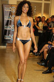 MIAMI - JULY 17: A model walks runway for Karo Swimwear collection Royalty Free Stock Photos
