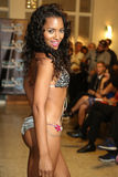 MIAMI - JULY 17: A model walks runway for Karo Swimwear collection Royalty Free Stock Image