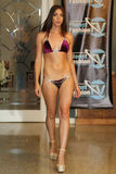 MIAMI - JULY 17: A model walks runway for Karo Swimwear collection Royalty Free Stock Photography