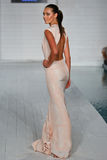 MIAMI - JULY 17: Model walks runway at Meskita collection Royalty Free Stock Photography