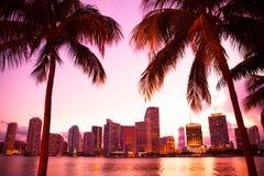Miami la Florida fotografía de archivo libre de regalías