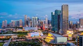 Miami, la Florida, los E almacen de metraje de vídeo