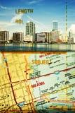 Miami la Floride Photos libres de droits