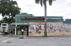 Miami, le 9 août : Petite Havana Community Street Arts de Miami en Floride Etats-Unis image stock