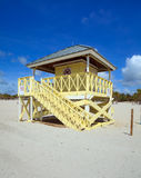 Miami Lifeguard Hut Stock Photography