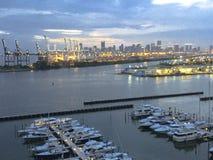 Miami, los E.E.U.U. - un lugar perfecto a viajar imagen de archivo