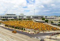 Miami lotnisko międzynarodowe Zdjęcia Royalty Free