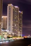Miami (lungomare) Immagine Stock Libera da Diritti