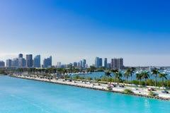 Miami, MacArthur-Damm, USA, Florida Stockfotos