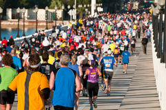 Miami Marathon Stock Images