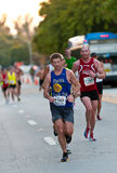 Miami Marathon Athletes Stock Photo