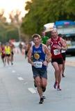 Miami Marathon Athletes Stock Photo