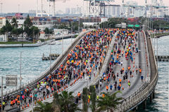 Miami Marathon 2016 Stock Photography