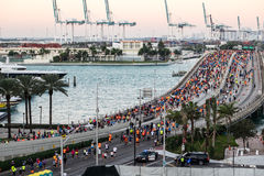 Miami Marathon 2016 Stock Photos