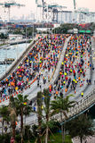Miami Marathon 2016 Royalty Free Stock Photography