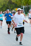Miami Marathon Runners Stock Photography