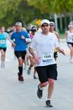 Miami Marathon Runners Stock Photography