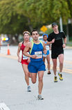 Miami Marathon Runners Royalty Free Stock Photo