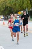 Miami Marathon Runners Royalty Free Stock Photo