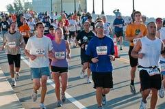 Miami Marathon Runners Stock Photo