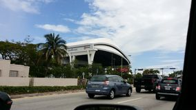 Miami Marlins Satdium Obraz Royalty Free