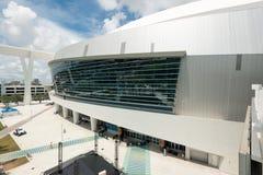 The Miami Marlins stadium in Miami royalty free stock photos