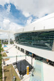 The Miami Marlins stadium in Miami Royalty Free Stock Images