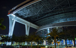 Miami Marlins Stadium Royalty Free Stock Photo
