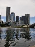 Miami miasto blisko plażowego Floryda obrazy royalty free