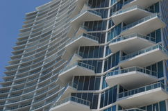 Miami Modern Architecture Royalty Free Stock Photography