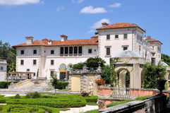 Miami Museum. Image of Vizcaya Museum at Miami Florida stock photography