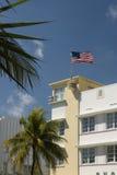 Miami na południe plażowi architektury fotografia stock