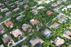 Miami-Nachbarschaft lizenzfreie stockfotos