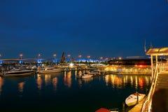 Miami at night. FL, USA Stock Images