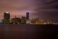 Miami (night) Royalty Free Stock Images