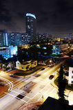 Miami at night Stock Photos