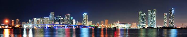 Miami night scene Stock Photography