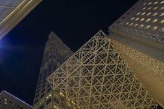 Miami at night. Royalty Free Stock Image