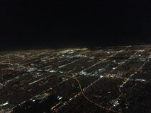 Miami od nieba fotografia stock