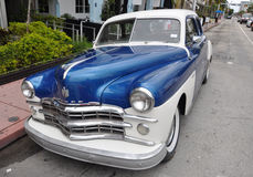 Miami Old Car Royalty Free Stock Image