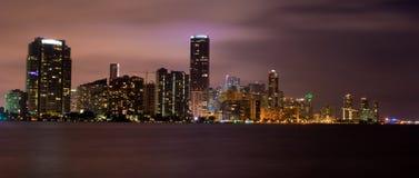 Miami (panoramica) Fotografia Stock Libera da Diritti