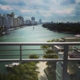 Miami paradise Stock Image