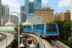 Miami People mover - 4 Royalty Free Stock Image