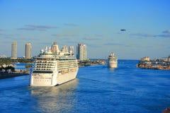 Miami pier Royalty Free Stock Image