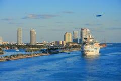 Miami pier Royalty Free Stock Photography