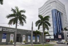 Miami plaża FL, Sierpień 09th: Art Deco Buduje od Miami plaży w Floryda Obraz Royalty Free