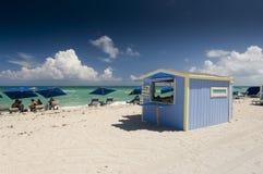 Miami plaża Miami Floryda Fotografia Royalty Free