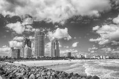 Miami Plażowy Floryda lub południe zdjęcie stock