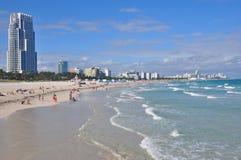 Miami plaży południe punkt Landcape obraz stock