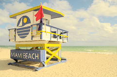 Miami plaży raju ocean obrazy stock